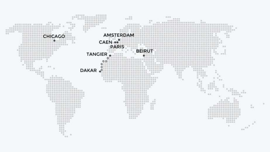 board-map-monde